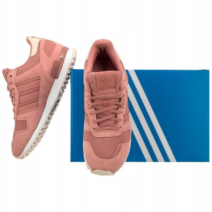 Buty Damskie Sportowe adidas ZX 700 BY9386 Różowe
