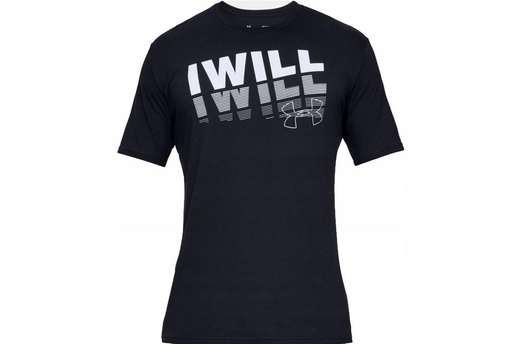 UNDER ARMOUR I WILL 2.0 SHORT S (L) Męski T-shirt