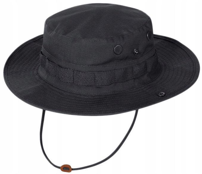 TEXAR KAPELUSZ WOJSKOWY JUNGLE czapka CZARNY XL