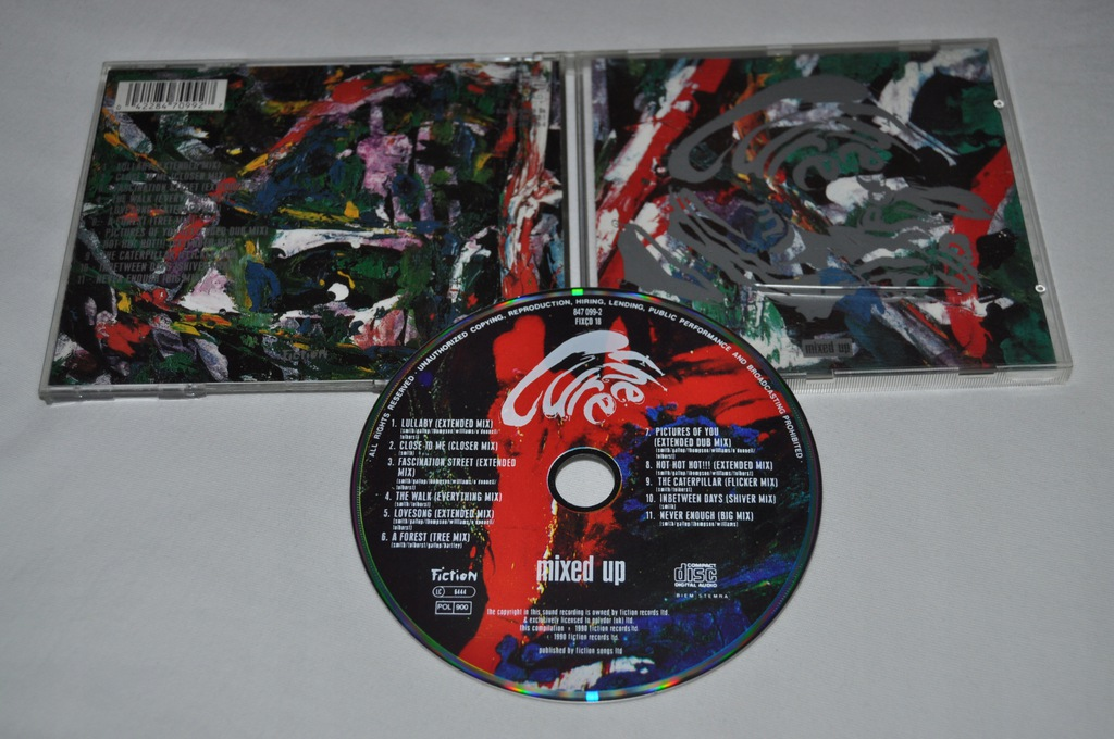 THE CURE - MIXED UP 1990R CD