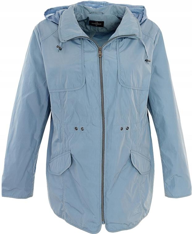 pL9060 C&A niebieska kurtka z kapturem 48