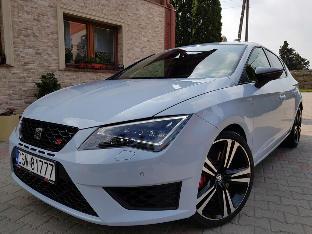 Seat Leon Cupra 2 0 290ps F1 Dsg Stan Salonowy Top 8060821259 Oficjalne Archiwum Allegro