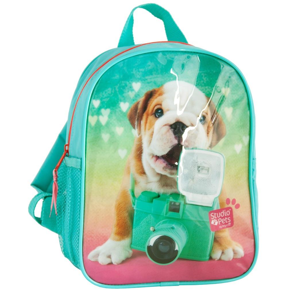 Plecak z Pieskiem Pies Plecaczek dla Dziewczyny