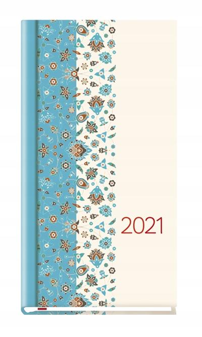 KALENDARZ TERMINARZ 2021 KSIĄŻKO 9 x 16,5 231 WZ 5
