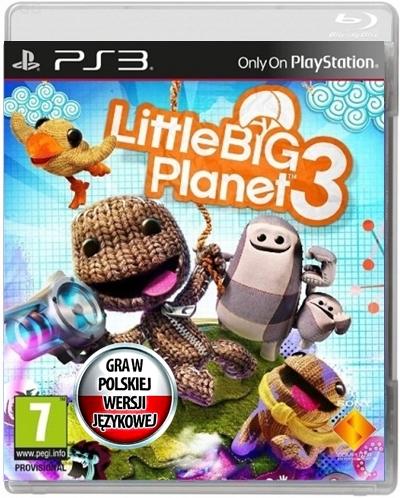 Little Big Planet 3 Ps3 Pl 71 8752943393 Oficjalne Archiwum Allegro