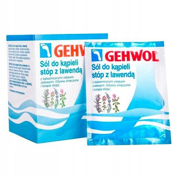 Gehwol sól do kąpieli ziołowa ożywia stopy 10x20g