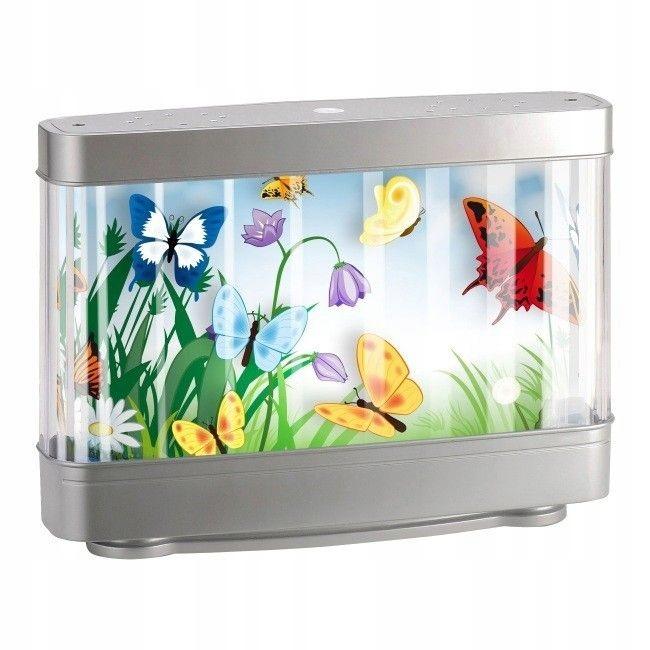 Lampka Nocna Biurkowa Akwarium Aqua Led Motylki 7665181726 Oficjalne Archiwum Allegro