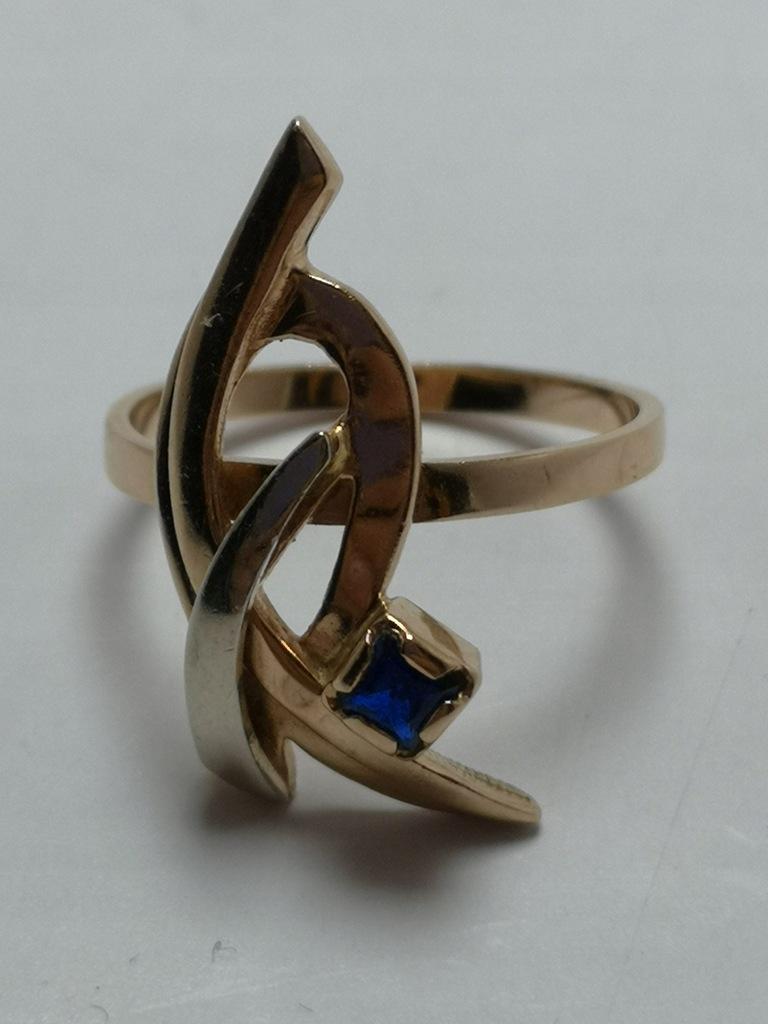 Złoty pierścionek p.585 3,67g r.14