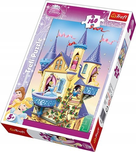 Trefl 15142: Puzzle 160 el. - Pałac Księżniczek