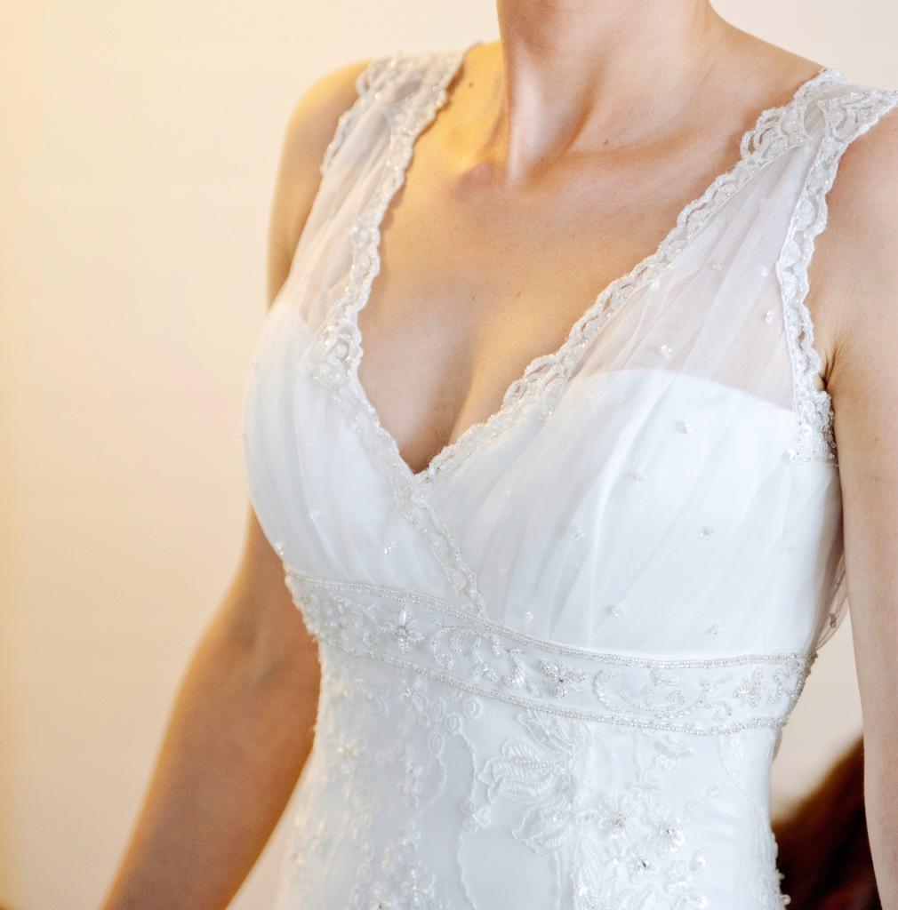 Koronkowa suknia ślubna rozmiar 34/36 XS/S
