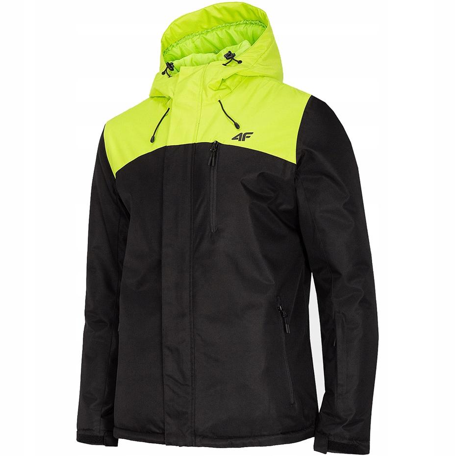Kurtka narciarska męska 4F soczysta zieleń H4Z19 K