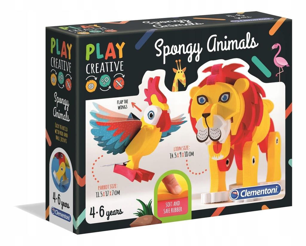 Miękkie zwierzątka 15284 PLAY CREATIVE CLEMENTONI