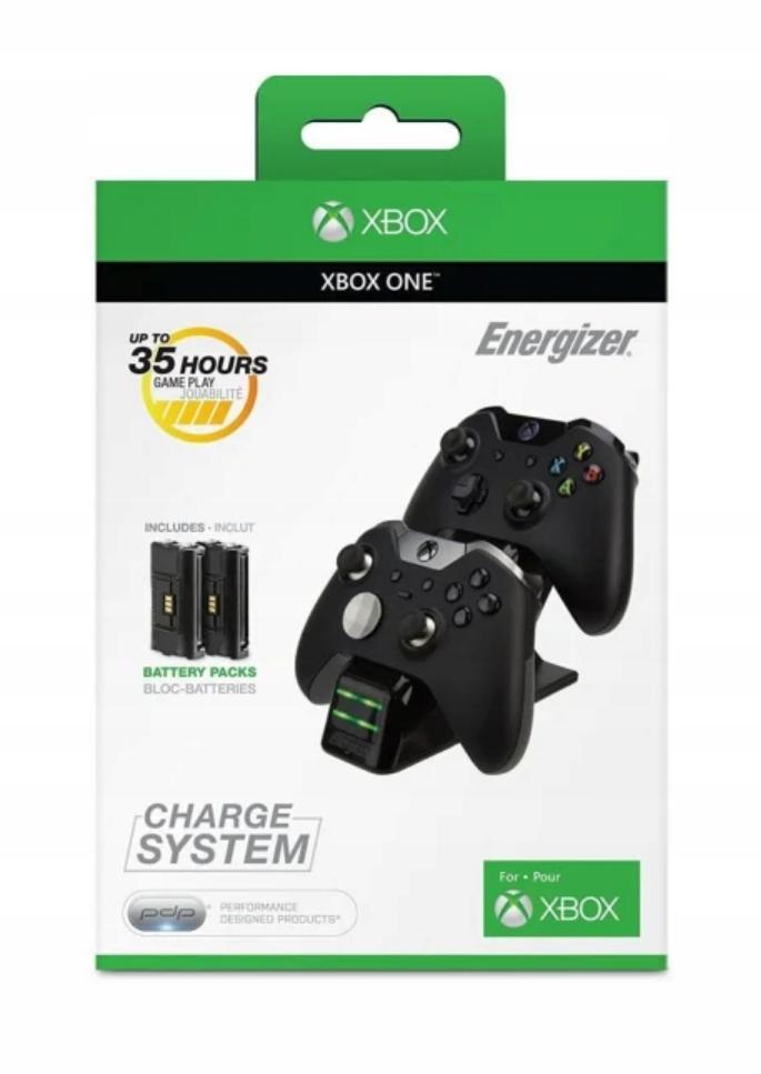 PDP Xbox ONE Energizer 2X Ładowarka do Padów BLK
