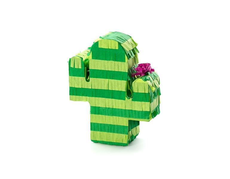 Kaktus, zielona piniata dla najmłodszych