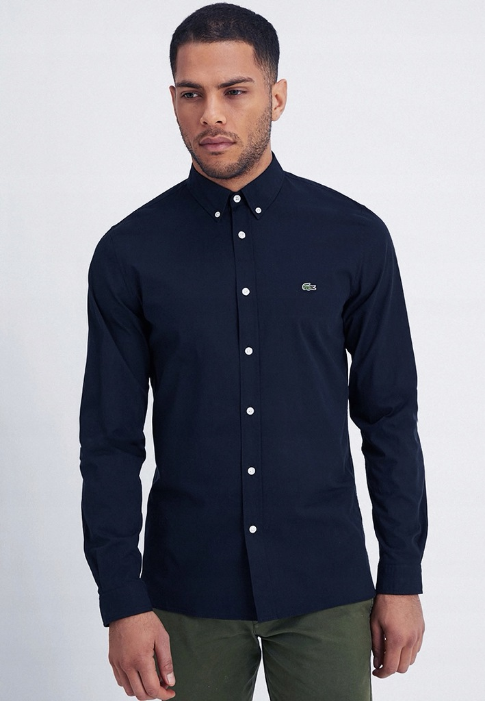 Lacoste Rozmiar L Koszula For Men Logo Slim Men