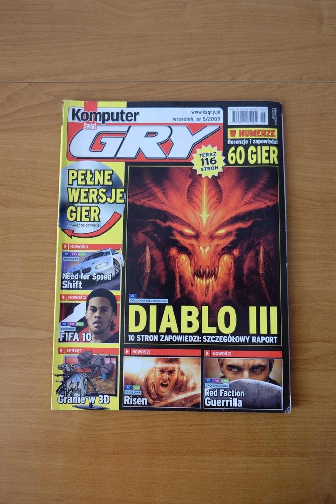 Komputer Świat Gry 5/2009 // Diablo Risen FIFA