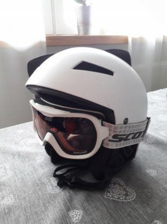 Kask narciarski SCOTT + gogle scott