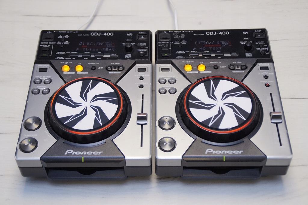 PIONEER CDJ 400 GWARANCJA DJM 250 350 600 700