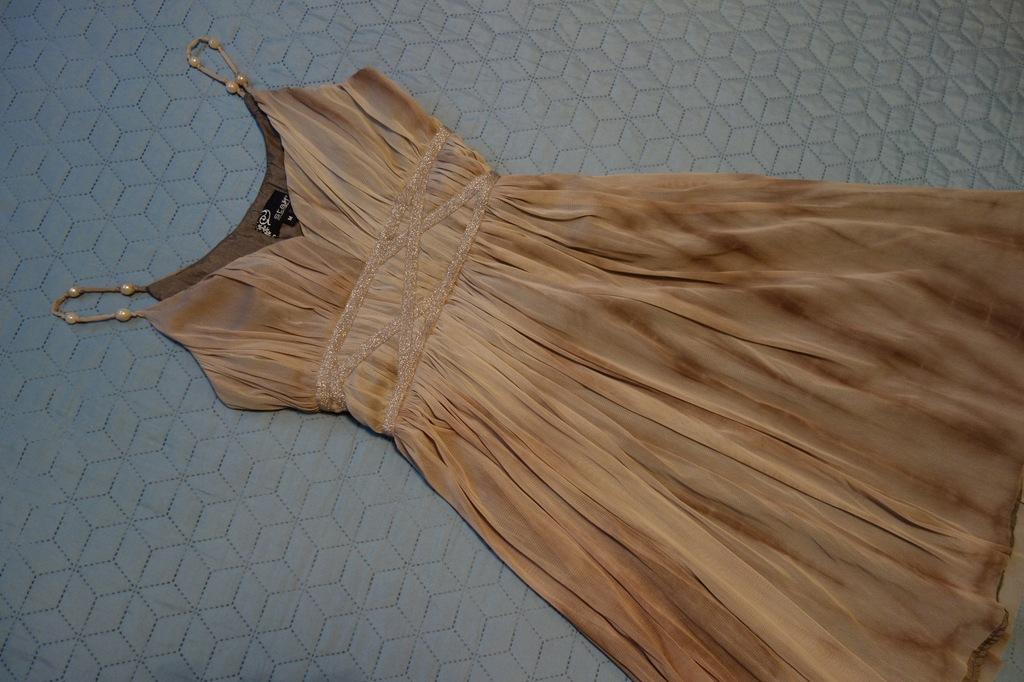 STAFF Piękna sukienka suknia koktajlowa M 38