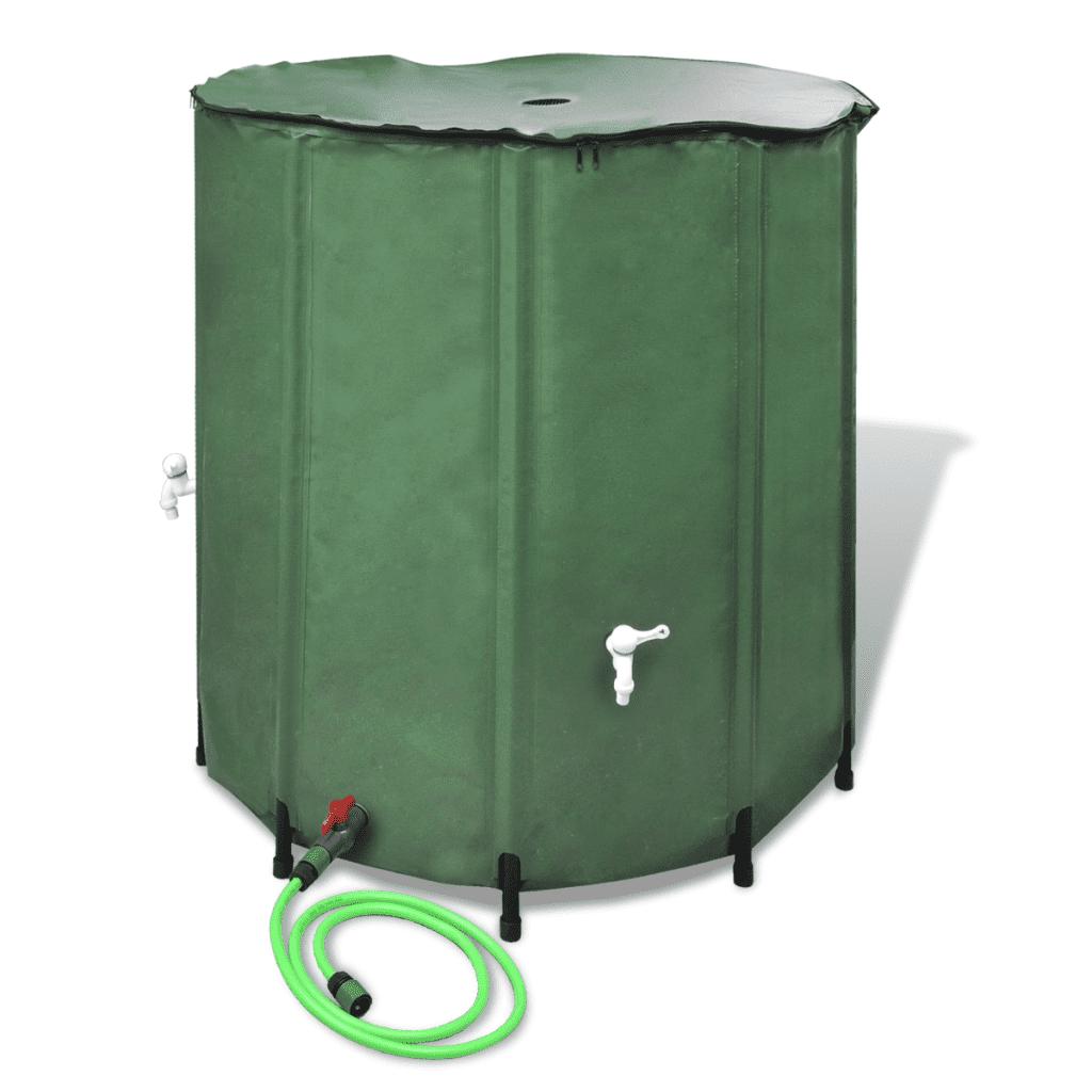 41222 vidaXL Składany zbiornik na deszczówkę 500 L