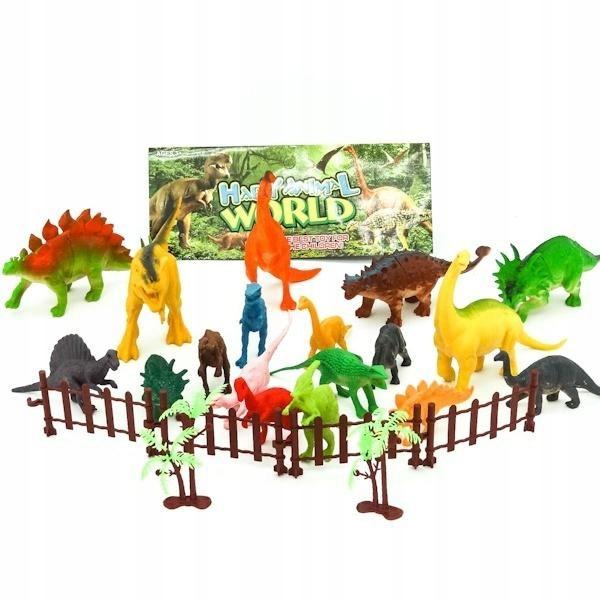 Figurki Dinozaury 18 sztuk
