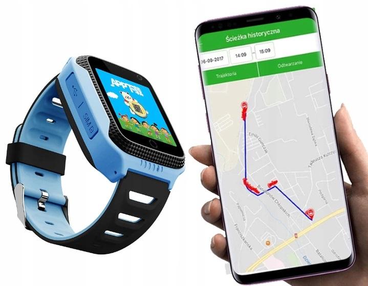 LOKALIZATOR DZIECI SMARTWATCH ZEGAREK GPS APARAT