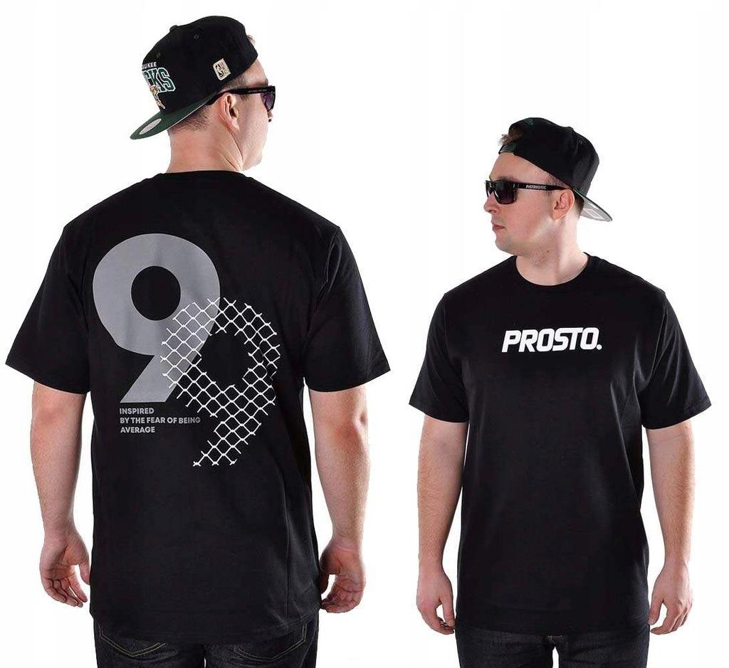 Koszulka L Prosto Klasyk AVERAGE t-shirt czarna