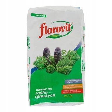 Nawóz do iglaków 25 kg Florovit