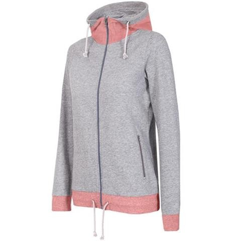 sweter 4F Bluza damska BLD301 chłodny jasny szary