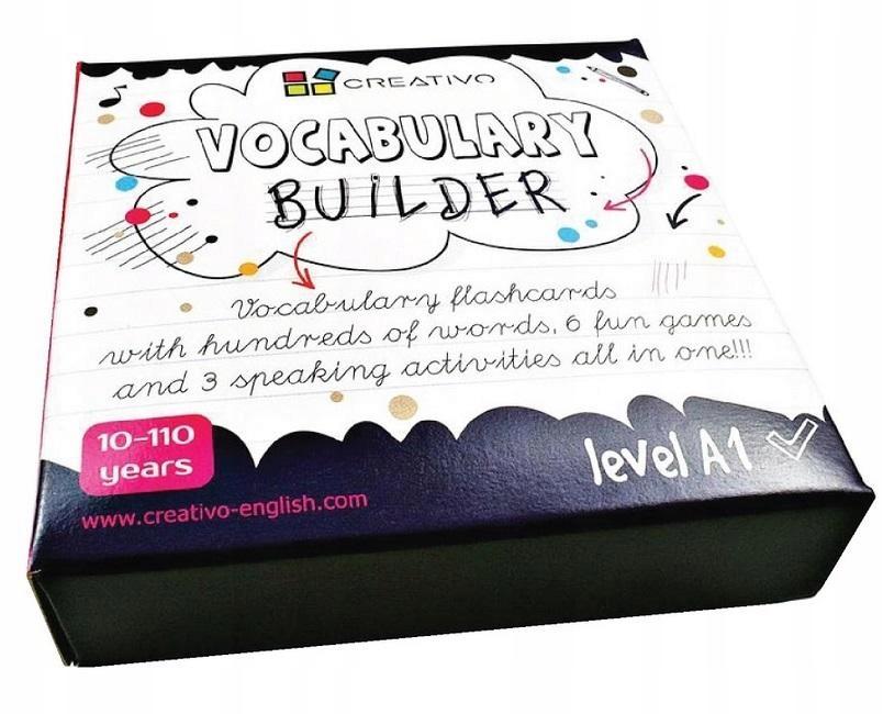 Vocabulary Builder Level A1 CREATIVO Creativo