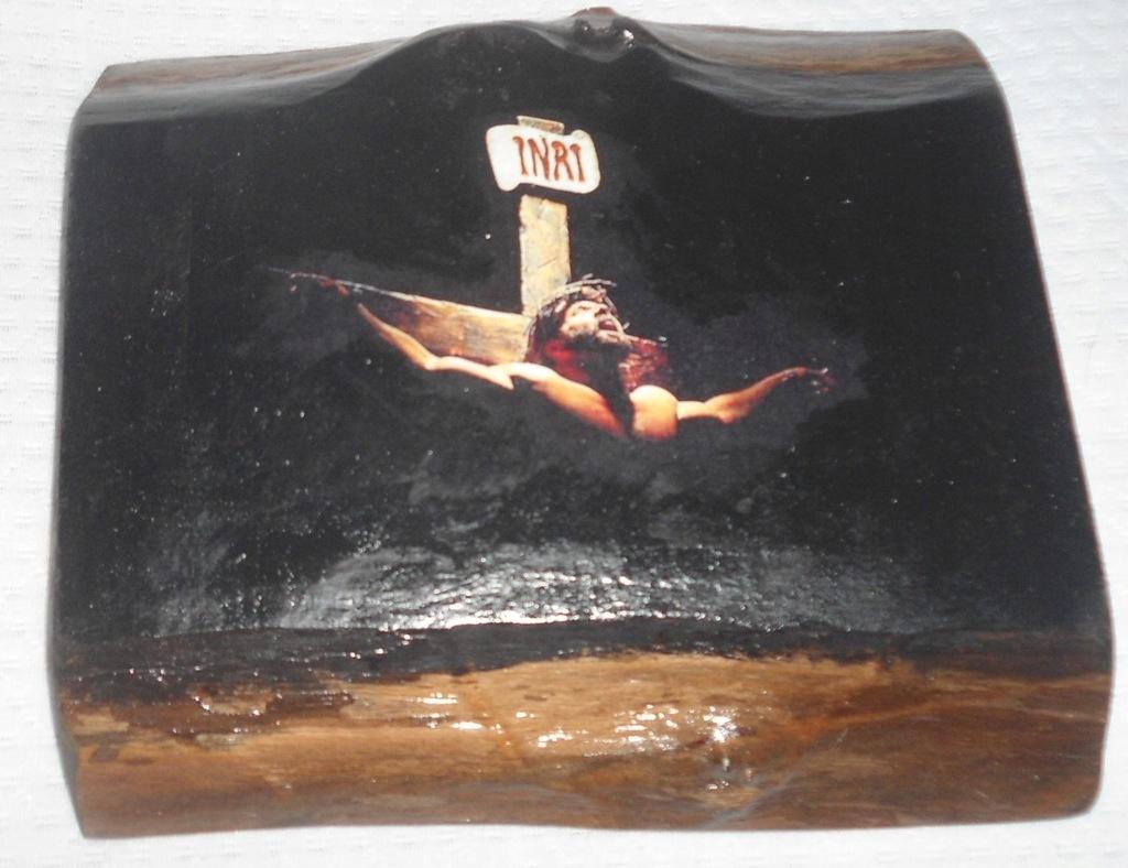Ikona Jezus Chrystus Ukrzyżowanie