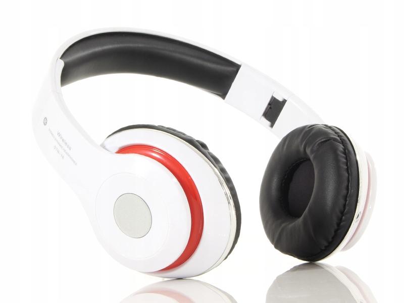 Składane słuchawki bezprzewodowe na głowę nauszne