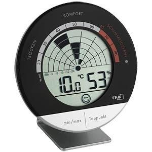 Cyfrowy termometr i higrometr z radem pleśni