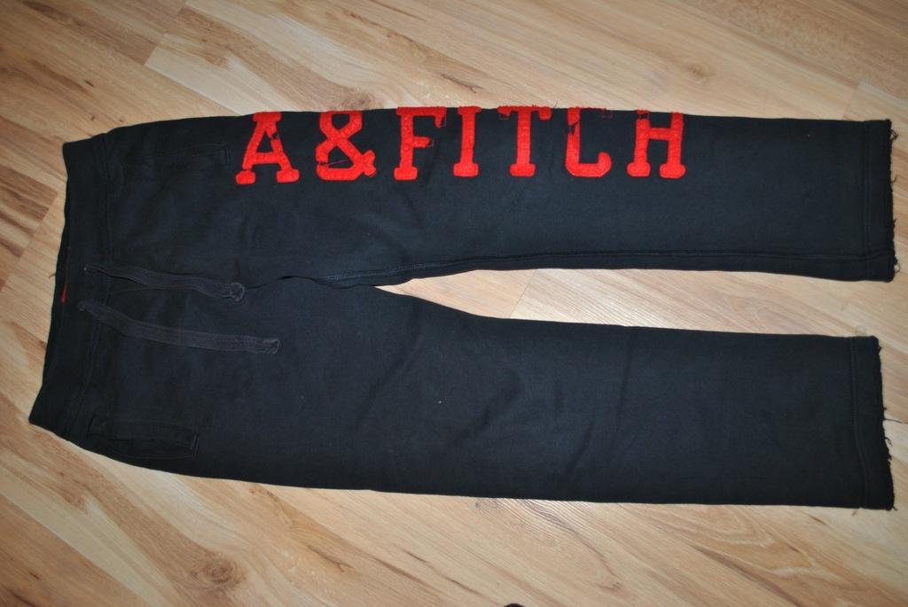 abercrombie&fitch spodnie dresowe r-s vintage