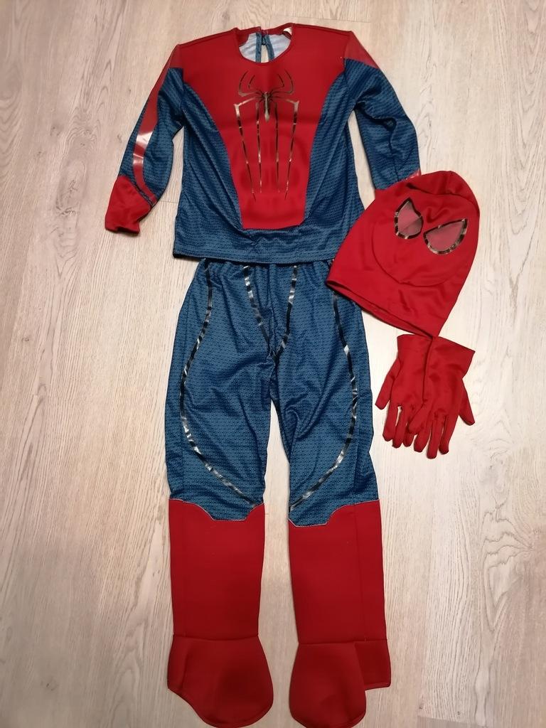 strój, kostium Spider-Man , rozmiar 116
