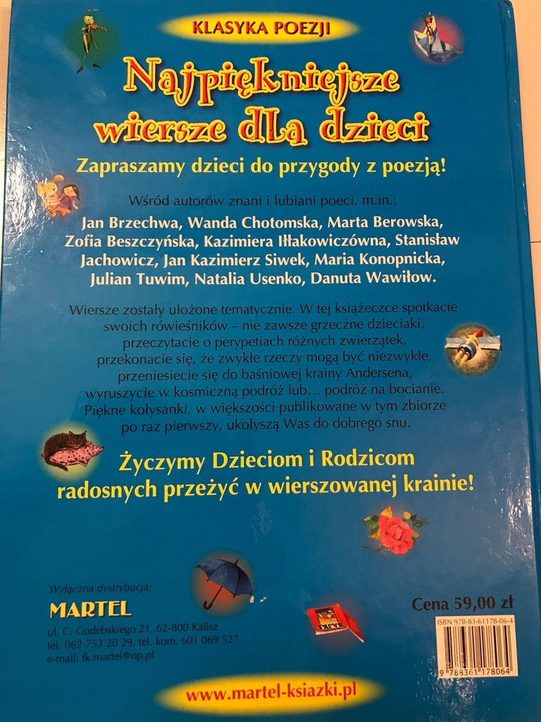 Bajki Wiersze Dla Dzieci Piękny Duży Zbiór 7777770396