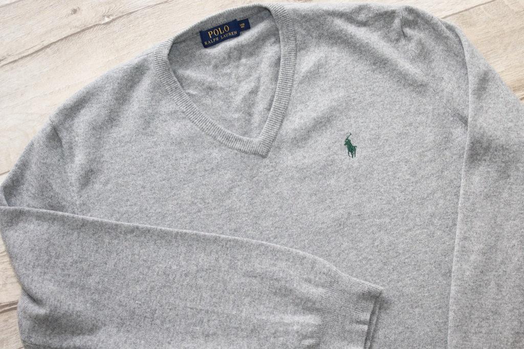 sweter Ralph Lauren XXL bdb 100% wełna merino