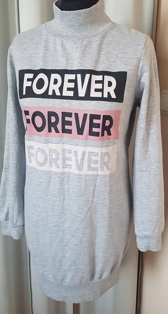 Bluza New look 40 L oversize długa modna