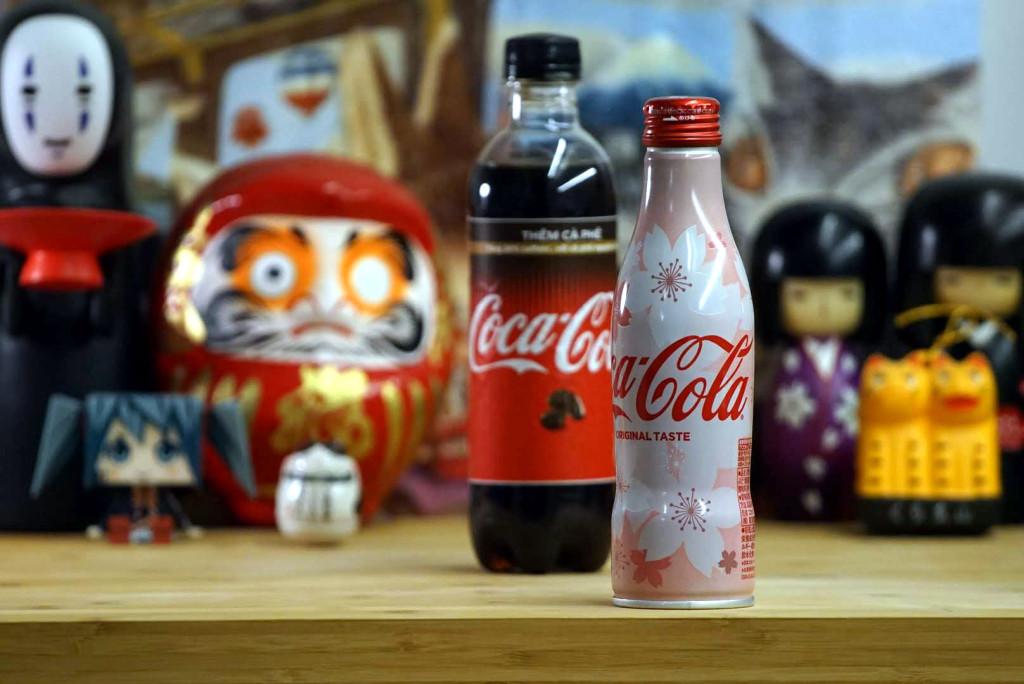 Limitowana Coca-Cola Sakura Japonia JAPAN ALU