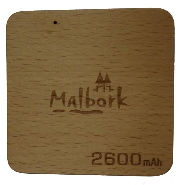 Power Bank 2600 z logo Malborka