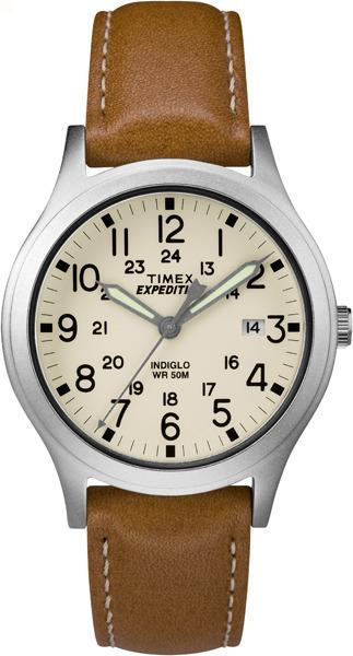 Zegarek męski Timex klasyczny na pasku brązowy
