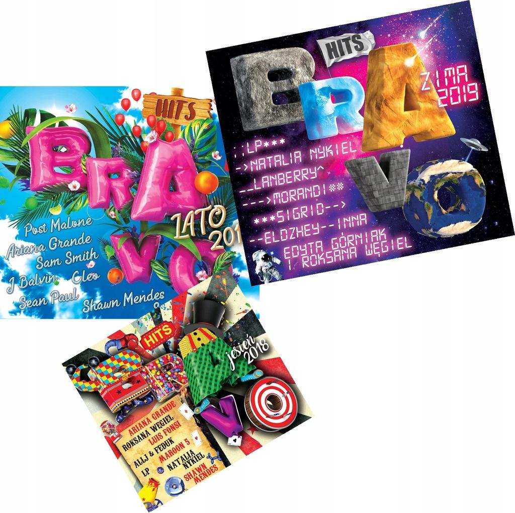 Bravo Hits Lato Jesien Zima 2019 6 Plyt Hitow 7756869587 Oficjalne Archiwum Allegro