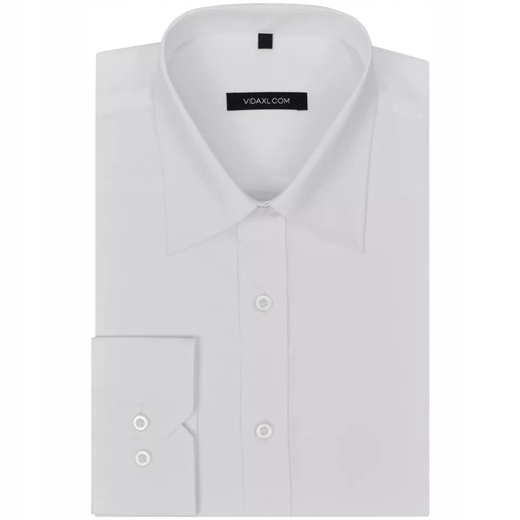 Koszula męska biała rozmiar L