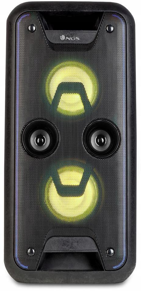 Głośnij DJ NGS WILD JAM Bluetooth USB LED 120W