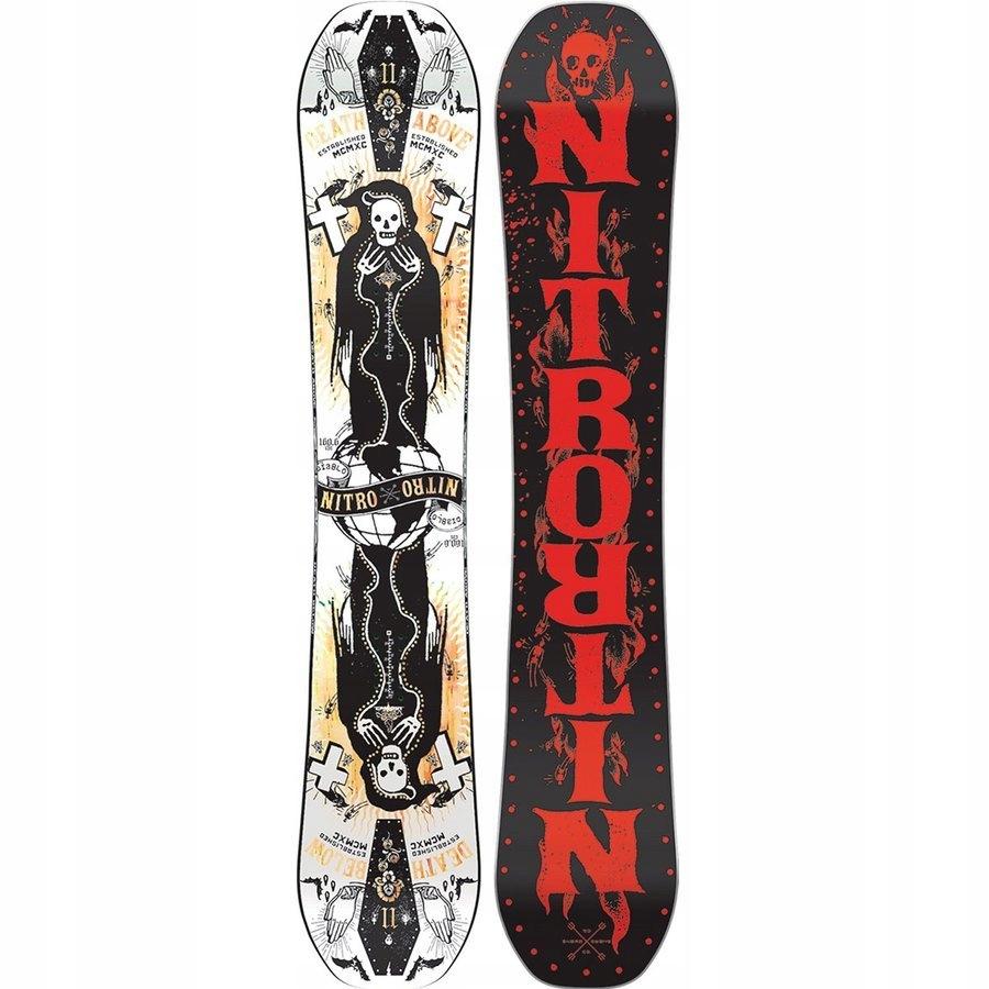 Deska snowboardowa NITRO Diablo 160.6cm 160