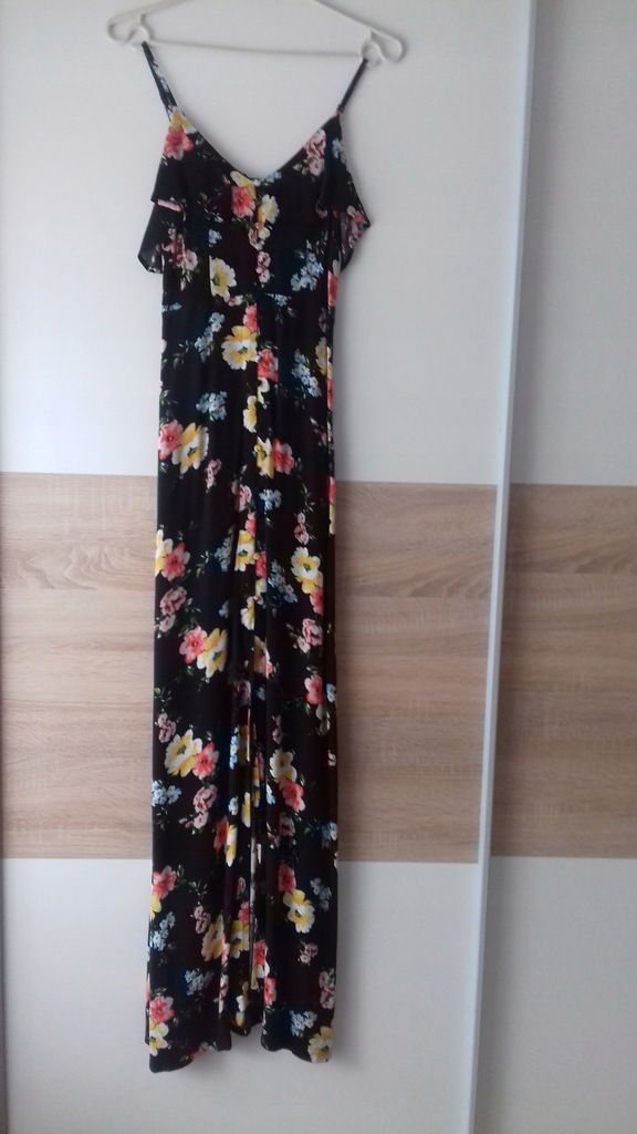 Tally Weijl Sukienka Maxi Kwiaty Xs 34 8130876925 Oficjalne Archiwum Allegro