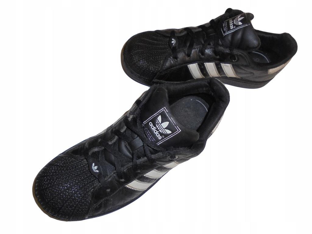 Skórzane buty firmy Adidas Superstar. Rozmiar 35