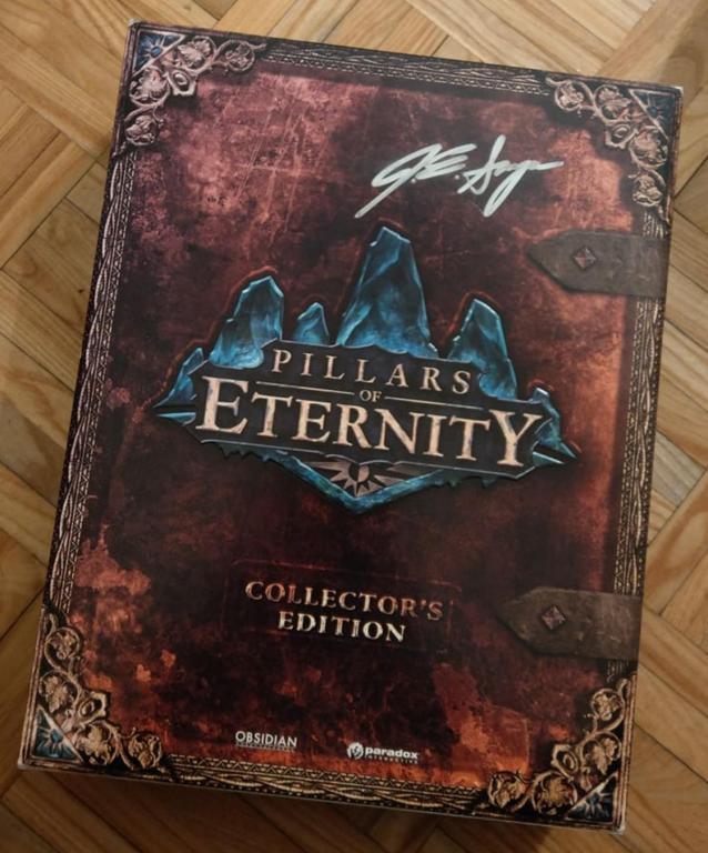 Kolekcjonerka Pillars of Eternity z autografem!