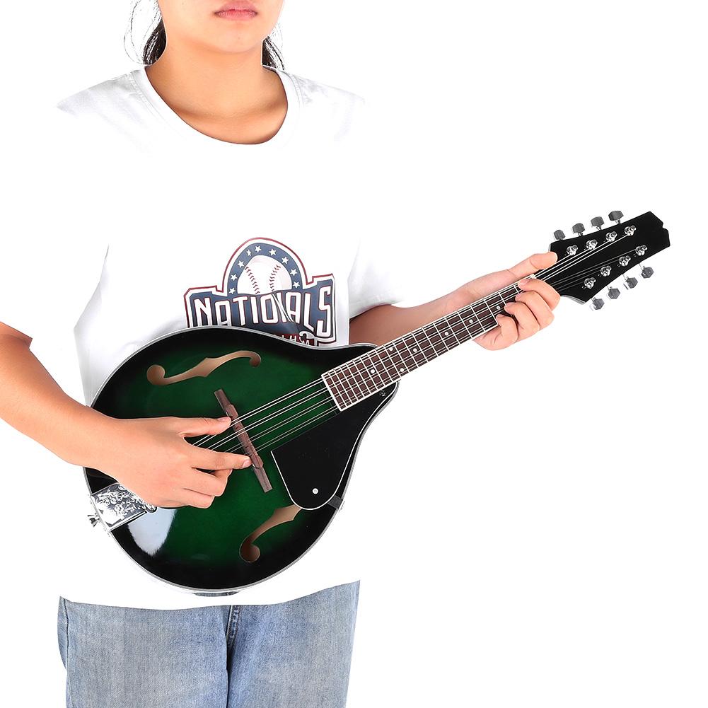 8-strunowa mandolina Drewniana mandolina 11cm
