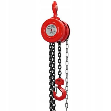 Wciągarka łańcuchowa podnośnik łańcuchowy ręczny 1